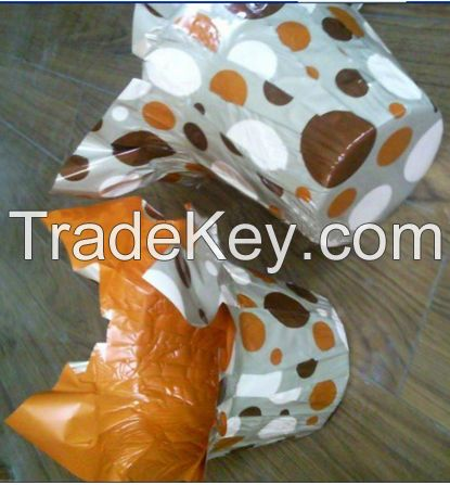 Plastic Flower Pot Cover / Flower Wrapping Sleeves