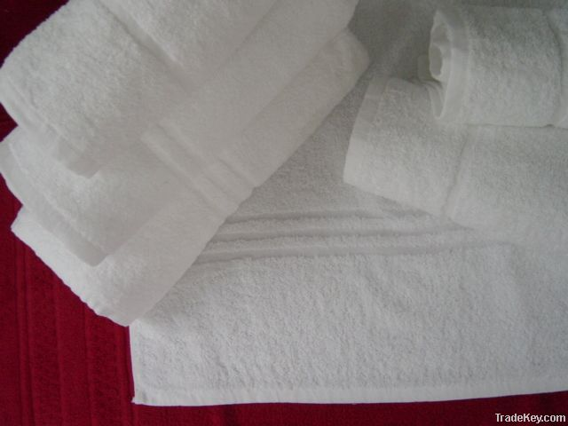 White Institutional Towels