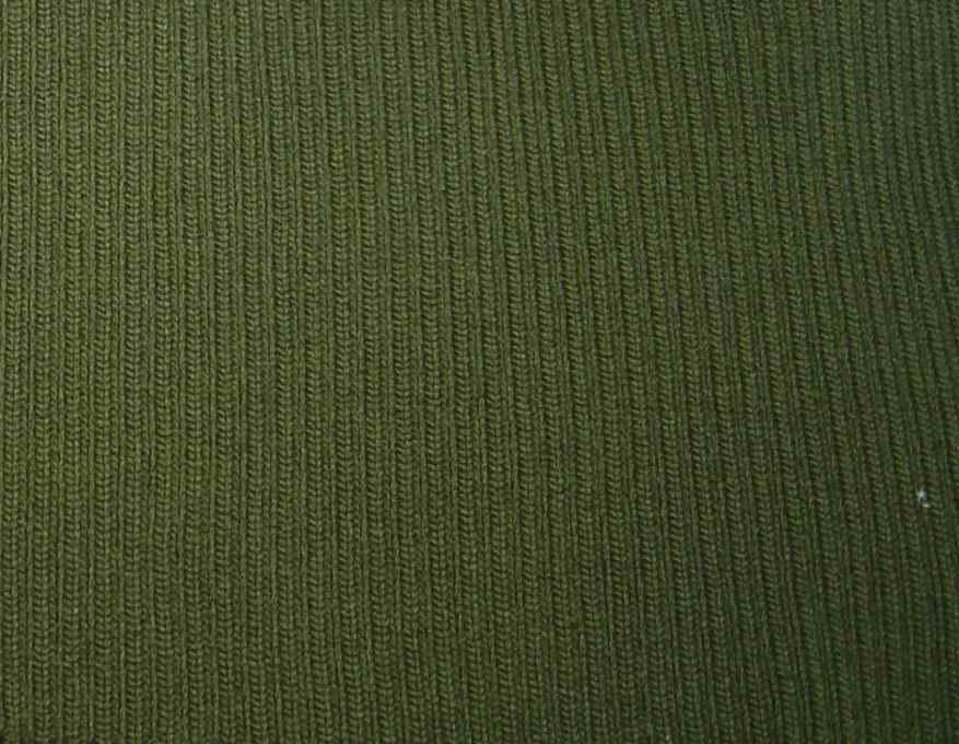 Rib & Flatknit Rib Fabric