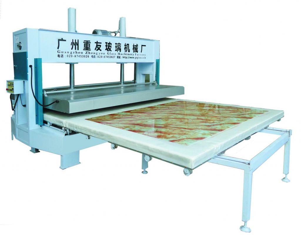 Heating 3D/Wooden/Marble Pattern Design Transfer baking Glass Machine