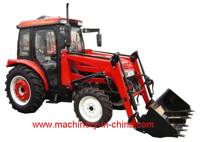 Jinma 354 tractor with cab and front end loader