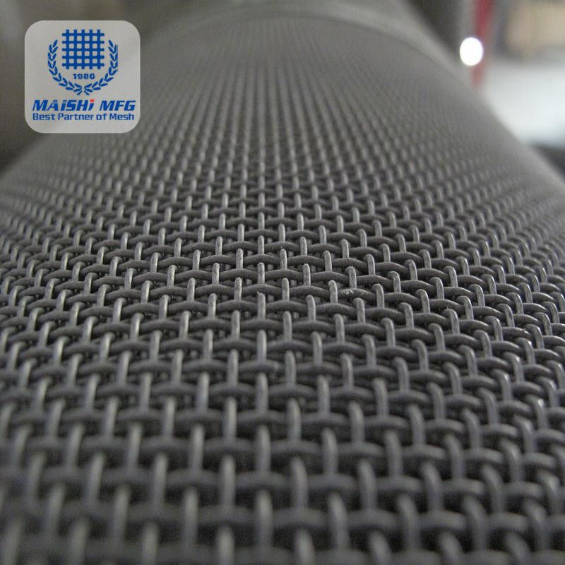 Powder coat stainless steel security screen meshs