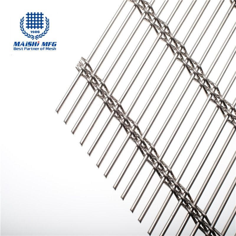 Stainless steel woven decorative metal mesh