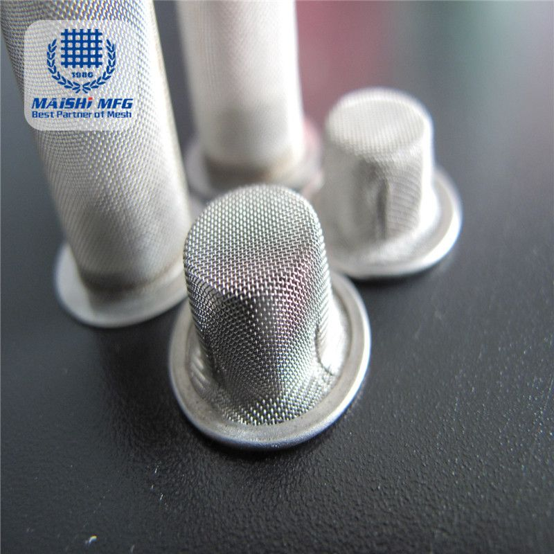 customized stainless steel mesh filter material