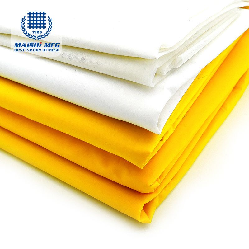 100% polyester mesh silk fabric for machine screen printing