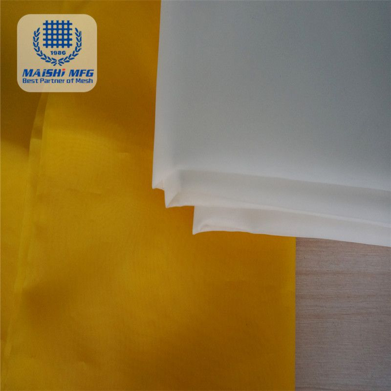 High tension polyester mesh for screen printing