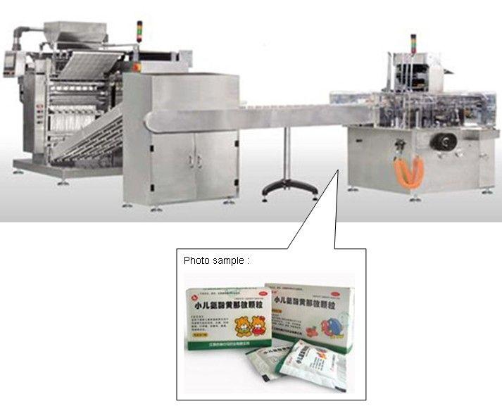 Sachet Packing Production line for granulate