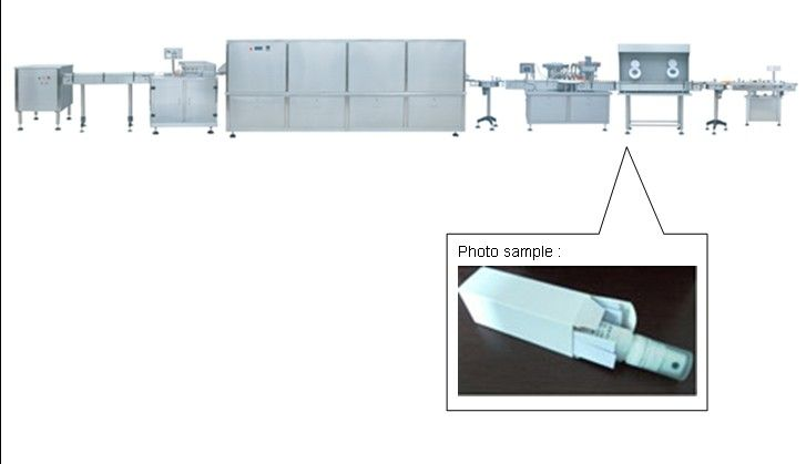 China pharmaceutical machine for 10-30ml Spray Bottle Filling and Capping Line