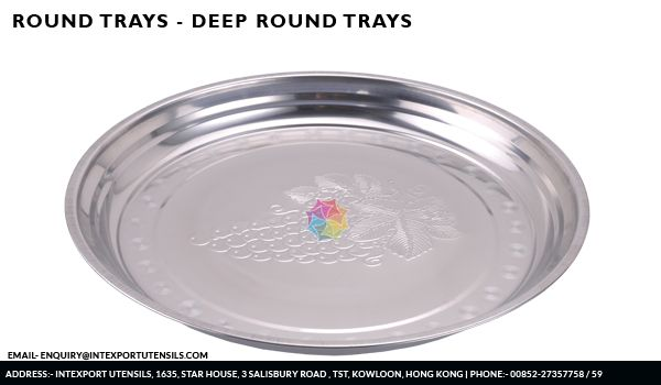 Deep Round Grape Trays