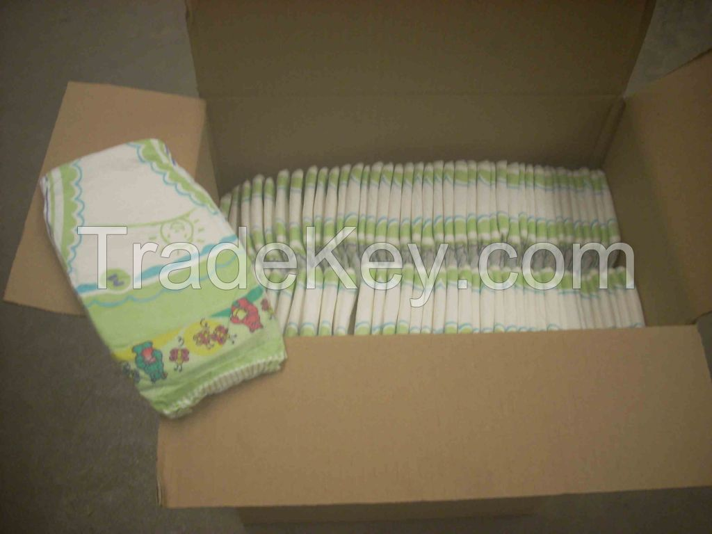 diaper stock lot from excellent european production