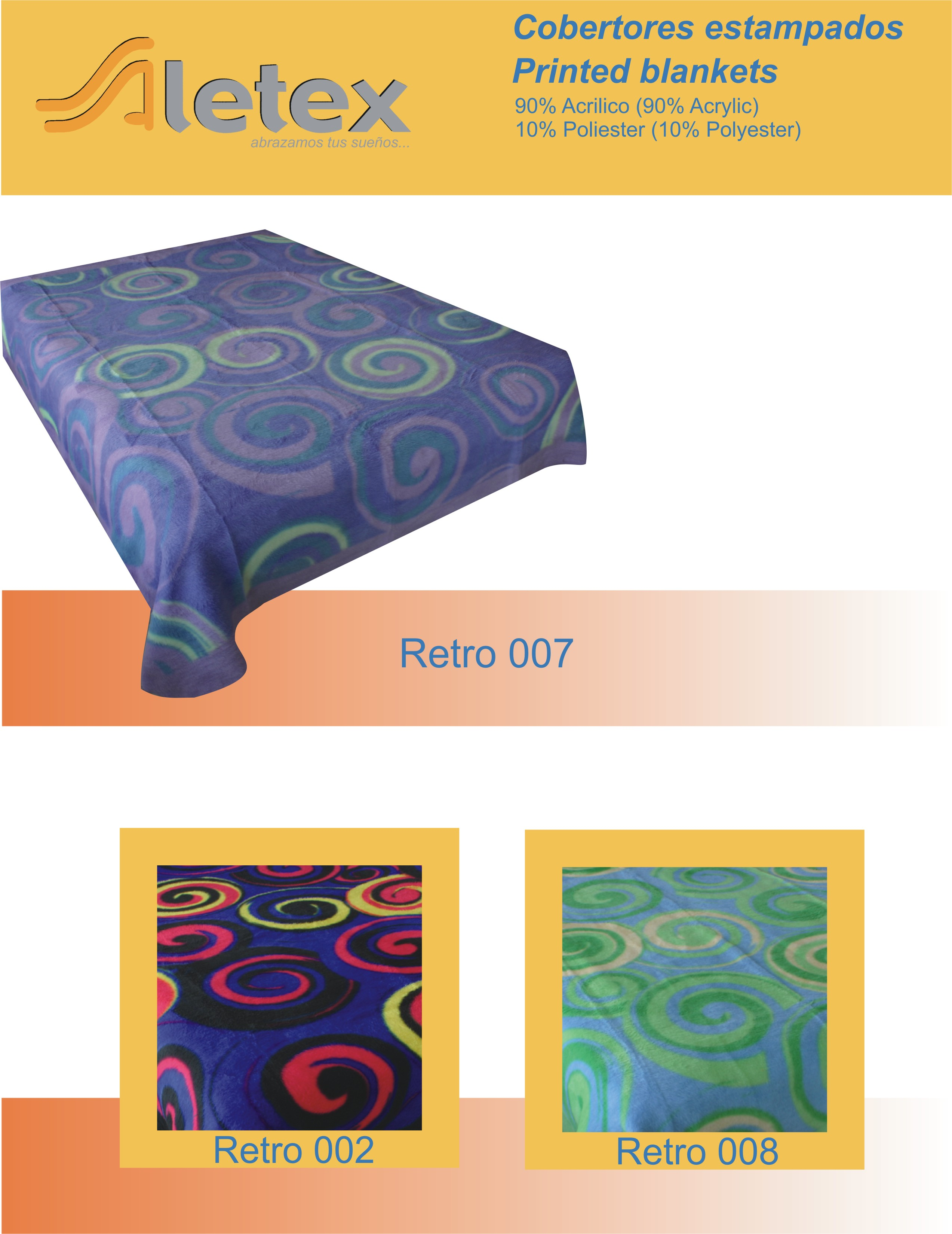 Queen size printed Modern Blankets