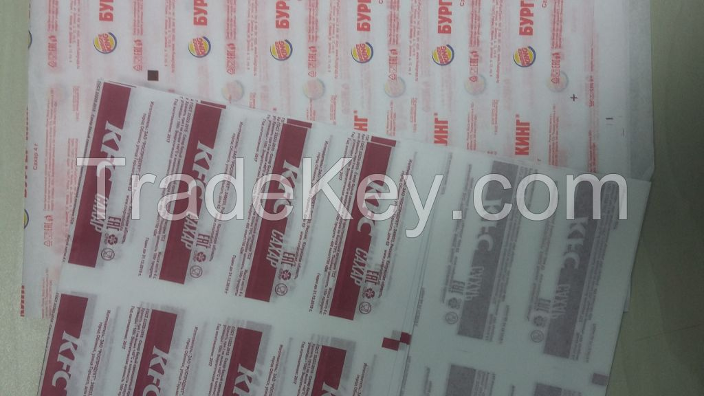 LAMINATED PAPER WITH PE