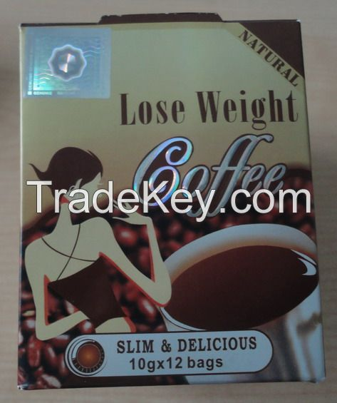 Natural lose weight coffee slimming coffe