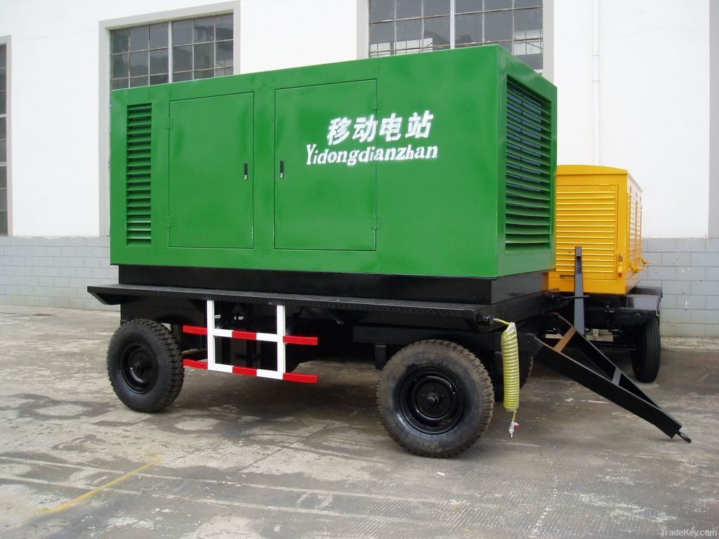 Silent Trailer Diesel Generator Type