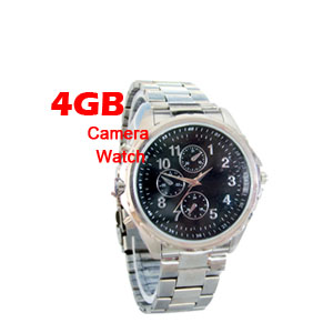 4GB Spy Watch