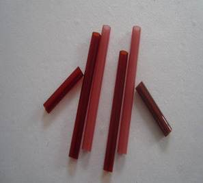 Red quartz tube
