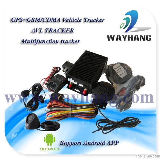 GPS Camera Tracker with Fuel Level Sensor