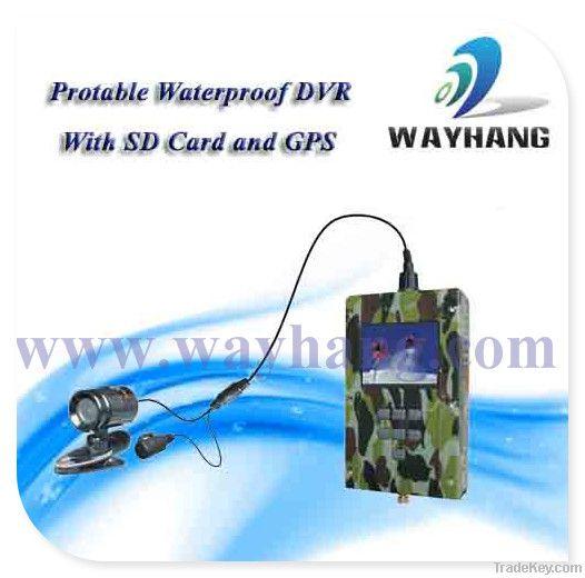 Portable GPS Waterproof Mini DVR