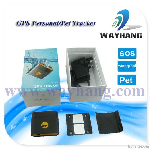 Mini Waterproof GPS Personal Tracker