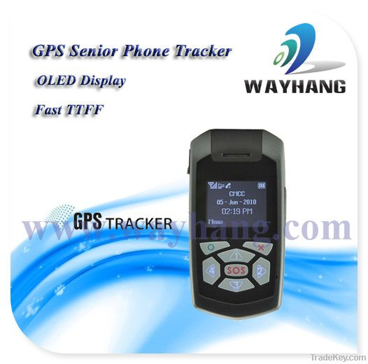 OLED Senior Care GPS Phone