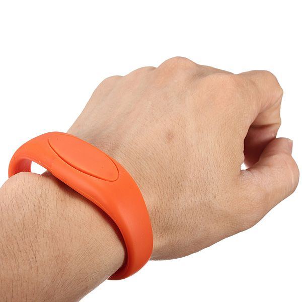 Promotional USB bracelet 128mb-32GB for Trade Show, Election
