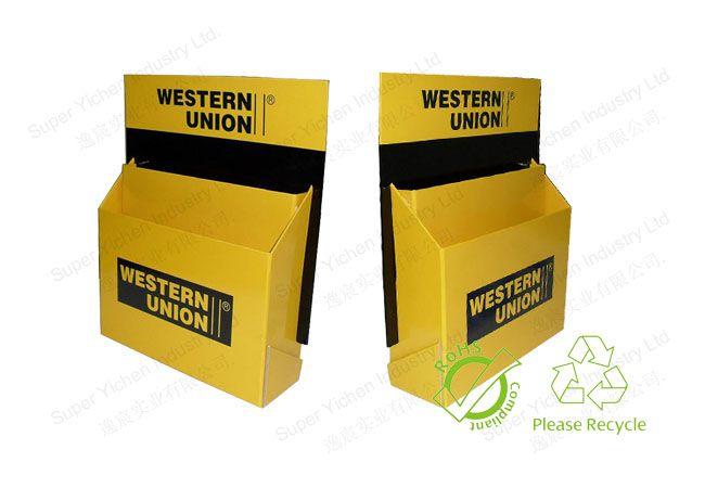 Cardboard counter display stand
