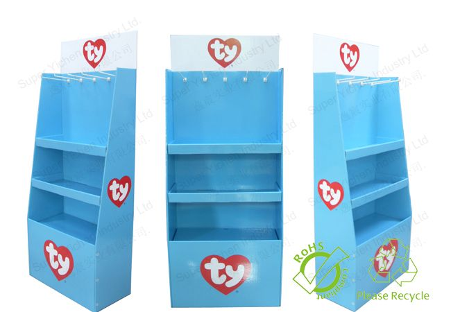 Slimming Tea Pop Displays Stands for Shop
