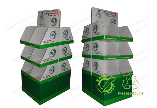 Cardboard Pallet Display for School Uniform