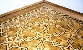 Wood Floor Medallions and Borders - Custom