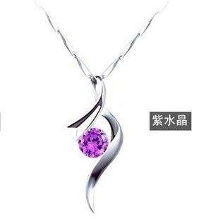 Antioxidant Pendants Silver Necklace
