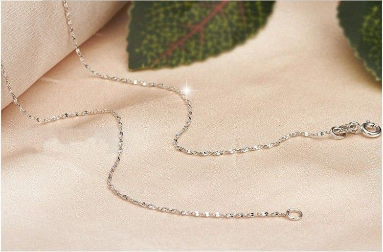 sterling silver chain, gysophila silver necklace
