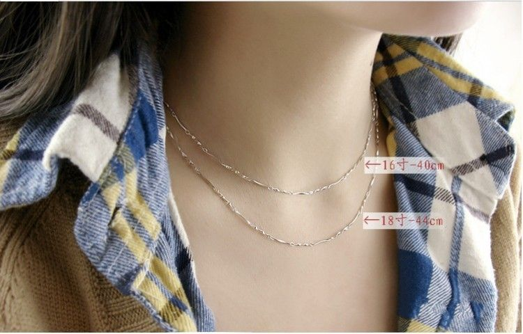 silver jewelry and 925 sterling chain