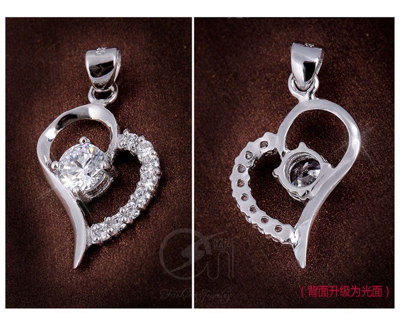 pendants fashion silver necklace pendants