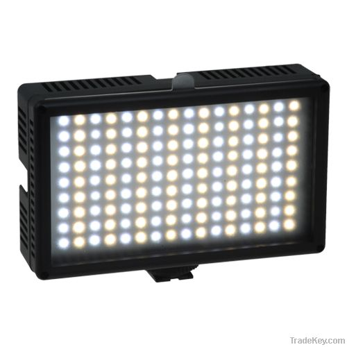 LED 144as Bi-color continuous light video/camcorder/photo 3200-5600k