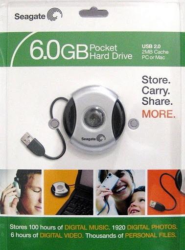 Seagate 6.0 GB Pocket Drive Hard Disk