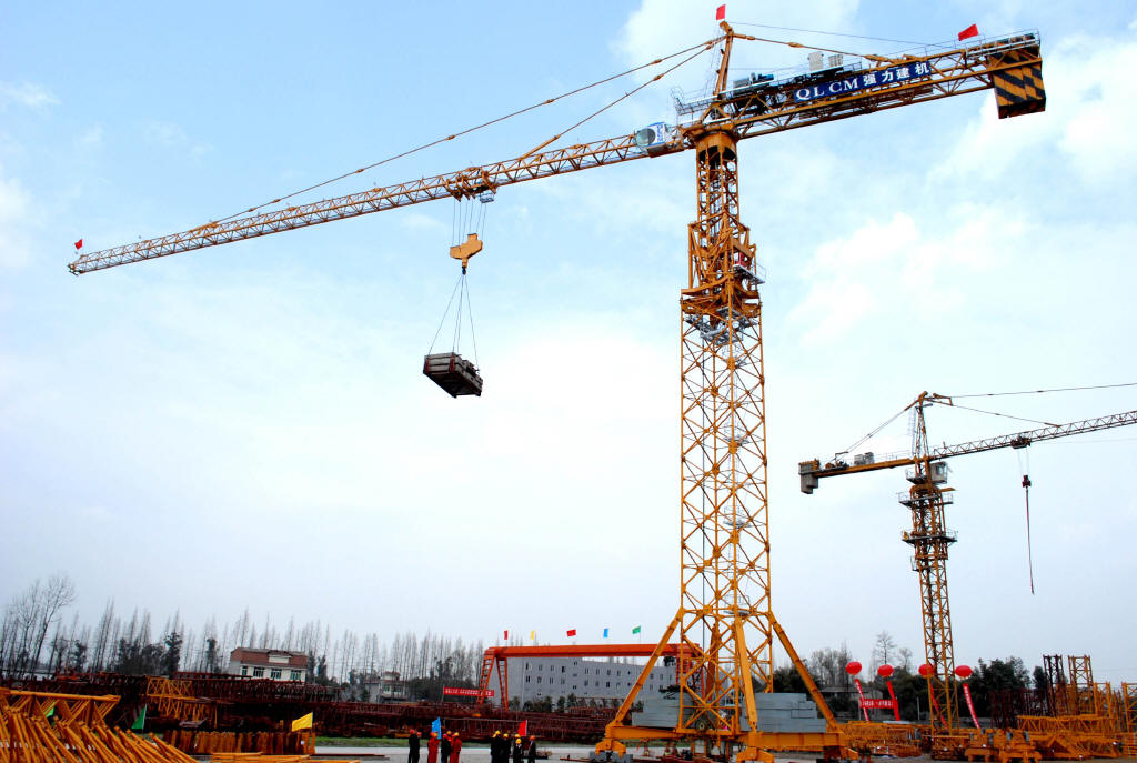 Tower crane for Construction info