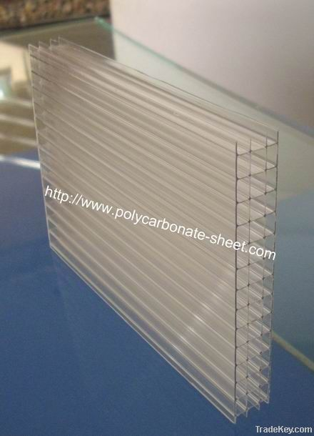 Polycarbonate Four-wall sheet