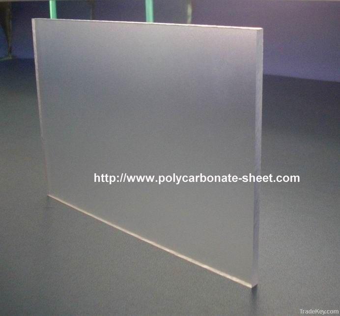 Abrasive PC sheet