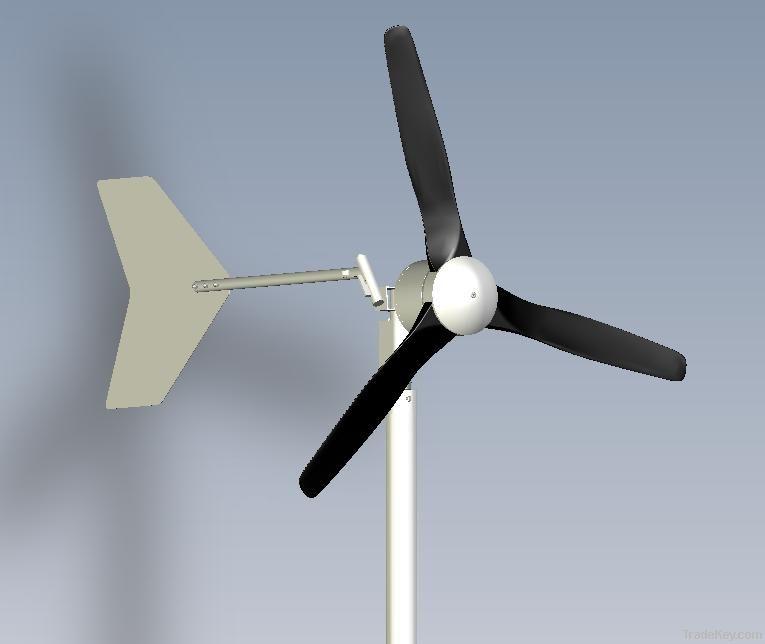 wind turbine Black600