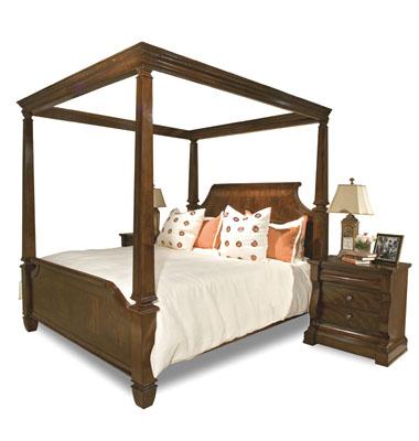 Saint Germain Canopy Bed