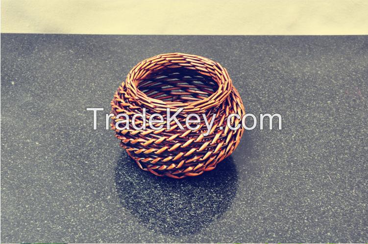 China best sale factory made wicker storage baskets