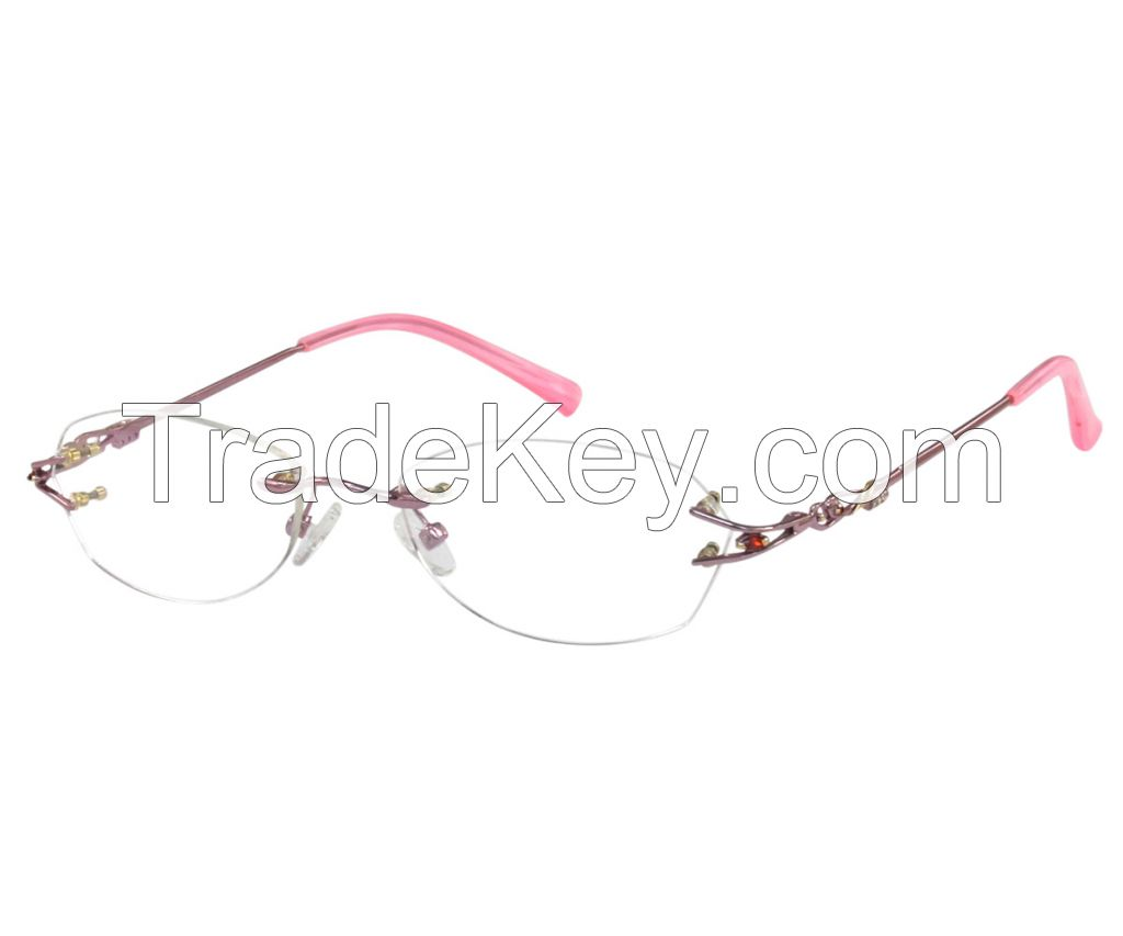 Optical Frames Stainless Steel Rimless