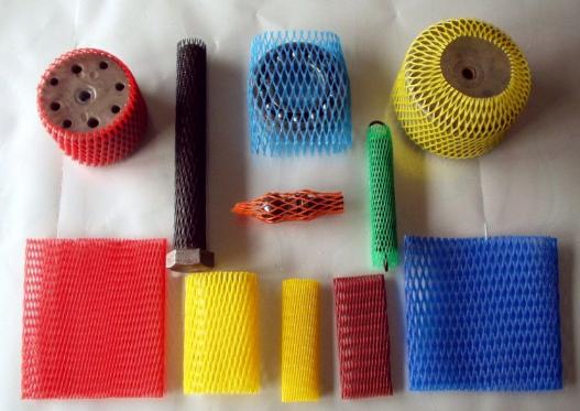 PE Mesh Sleeve Net Elastic Tubular Protective Net