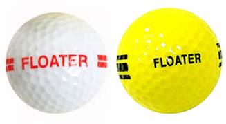 floater range golf ball