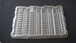 Electronical component tray