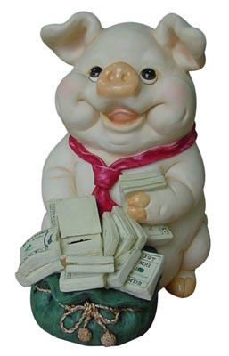 Polyresin Piggy Money Box