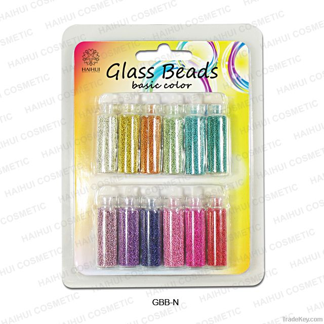 Nail glass beads basic colors