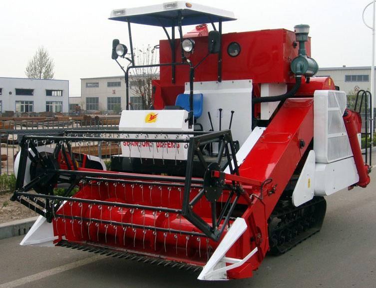 4LZ-2.0A Rice Combine Harvester