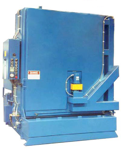 Aqueous Parts Washer Retractable turntable
