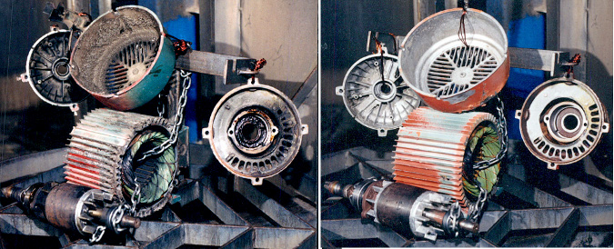 Electric Motor Parts Washer